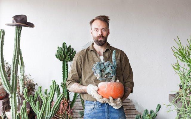 Erik Hamline of Madre Cacti Co.