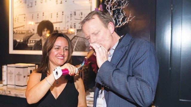Maria Caram, International Cigars