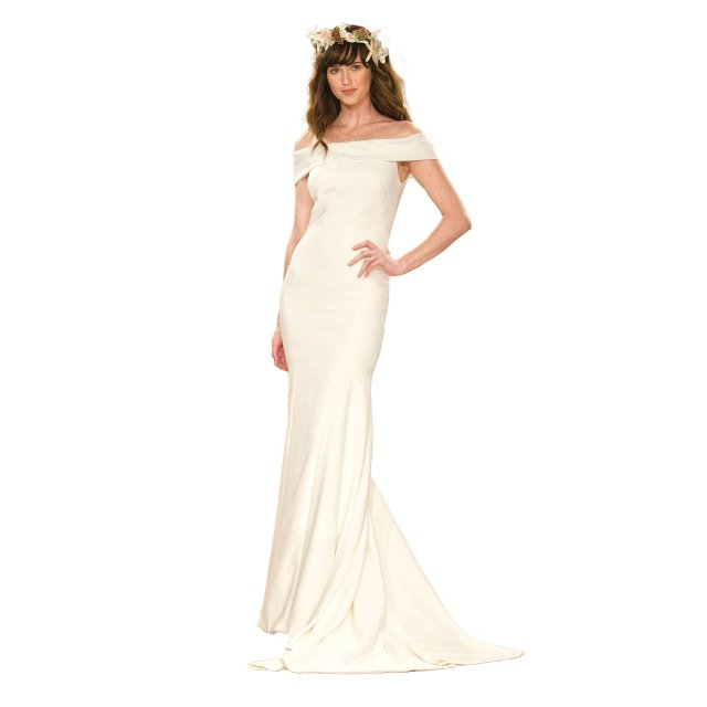 wedding dress trend off the shoulder silhouettes mpls st paul