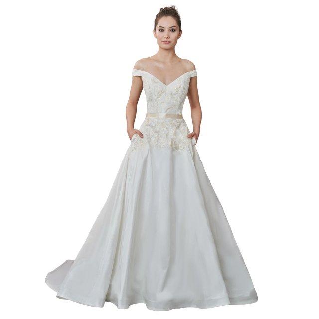 Wedding gown at Annika Bridal