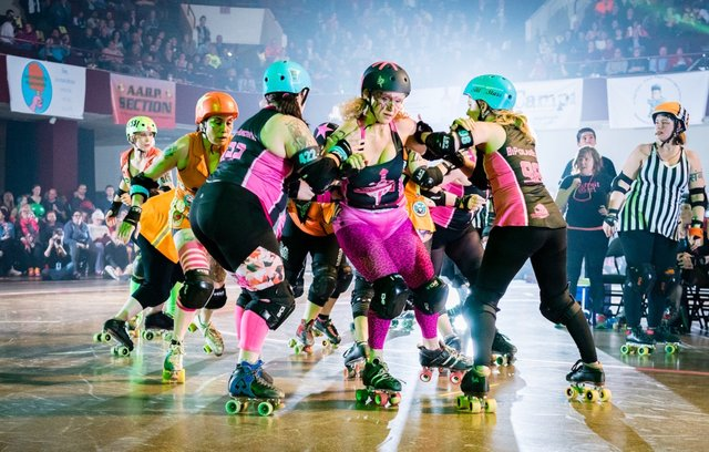 Minnesota Roller Girls at Roy Wilkins Auditorium
