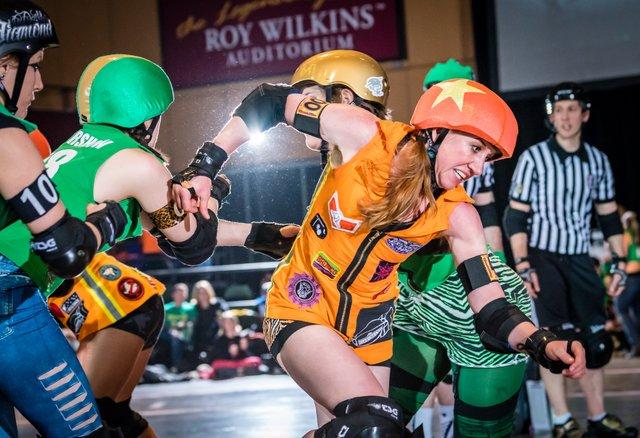 Minnesota Roller Girls   Photo by Ron Wilbur