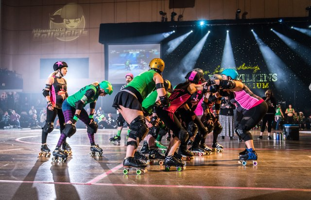 Minnesota Roller Girls | Photo by Ron Wilbur