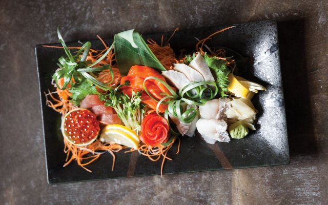 Chef's choice platter at Kyatchi