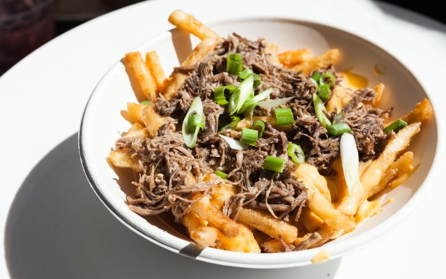 Brisket Poutine from Red Cow in Target Field