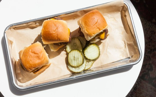 Sliders from Crave in Target Field