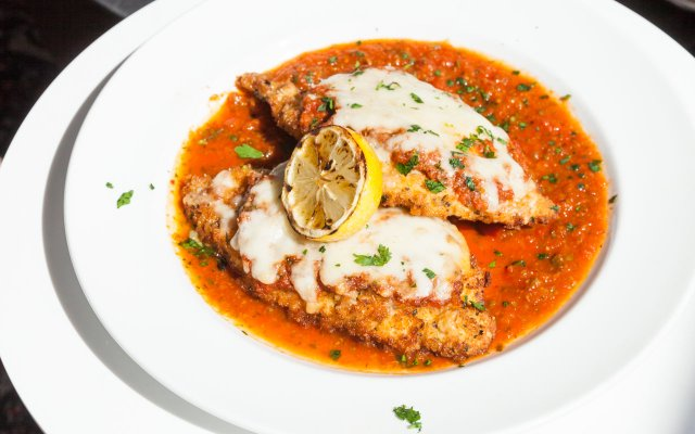 Chicken Parmesan from Red Rabbit in Target Field
