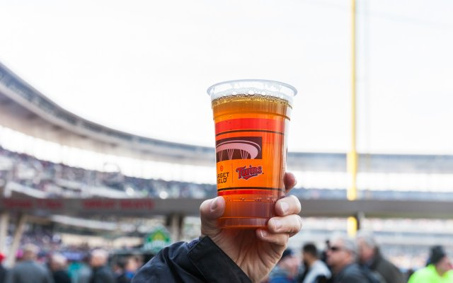 Surly Cut Down IPA in Target Field