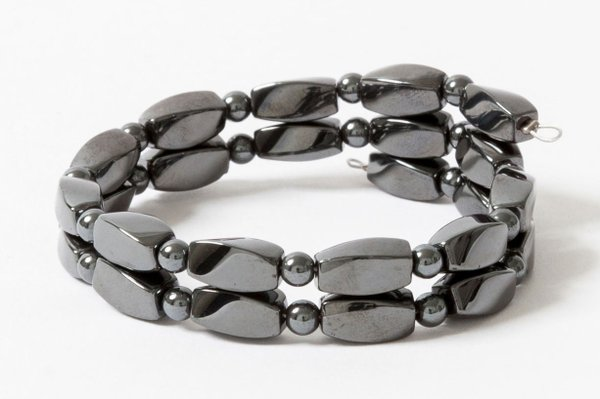 Acupressure Hematite Bracelet