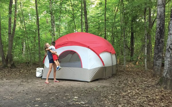 Camping at William O'Brien State Park