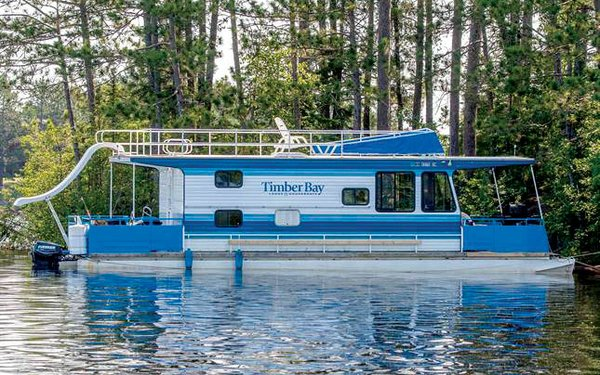 Timber Bay Houseboat