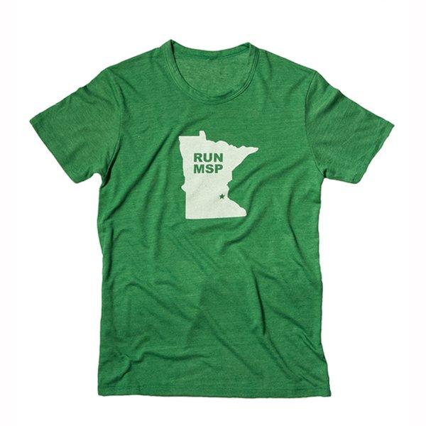 Green Run MSP shirt from Gear Running Store