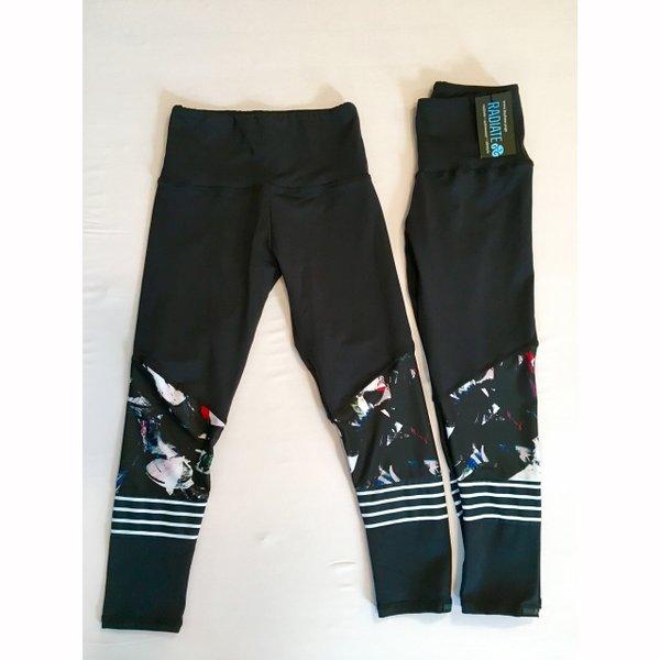 Patterned leggings from Radiate Yoga.