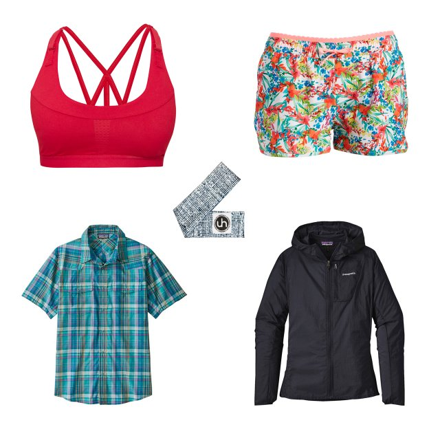 Spring workout clothes.