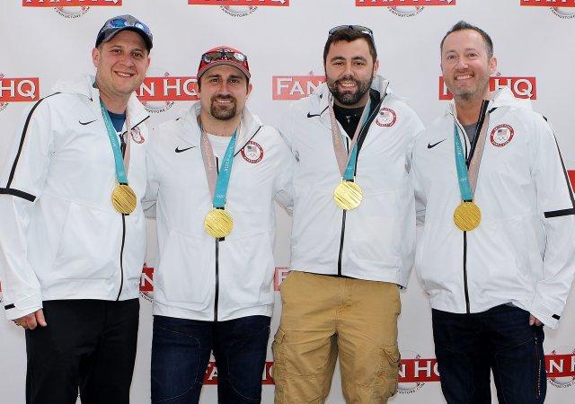 U.S. Men's Curling team