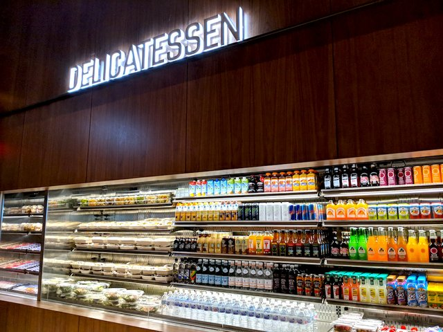 Deli case at MOA Cinema