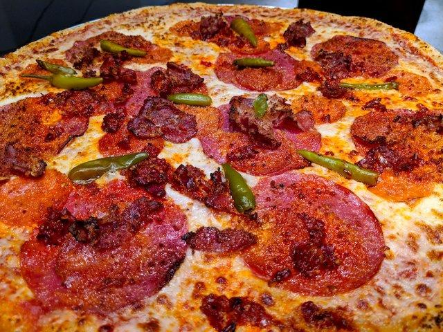 Pizza from MOA Cinema