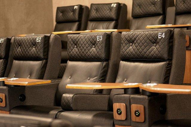 MOA Cinema seats
