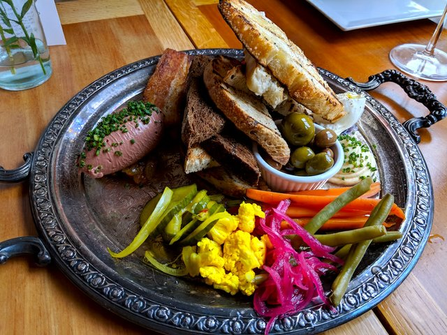 Charcuterie at Bungalow Club