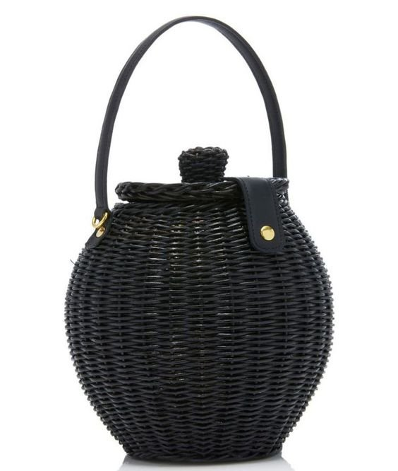Ulla Johnson Tatou Basket Bag From Shop Mille