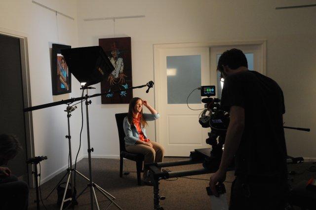 The Dodging Bullets crew interviews Dr. Melissa Walls
