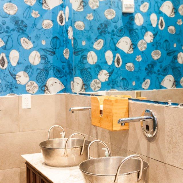 Hai Hai restroom sinks