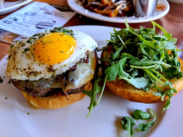Gouda burger at just/us