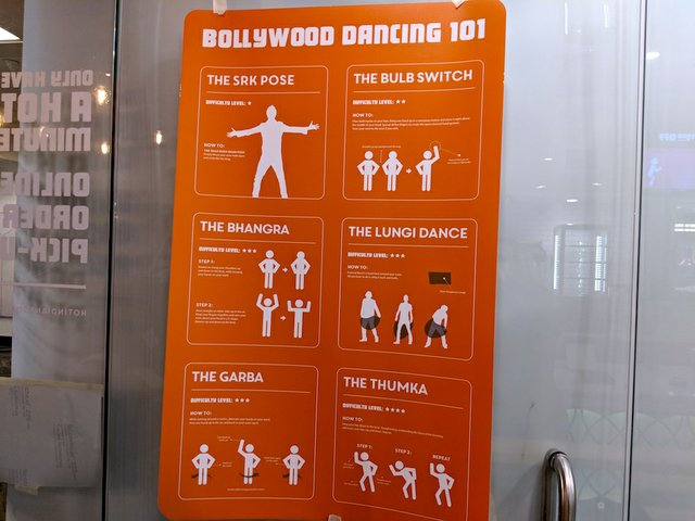 Hot Indian skyway location dance moves
