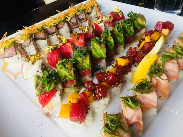 Sushi at Seven Steakhouse