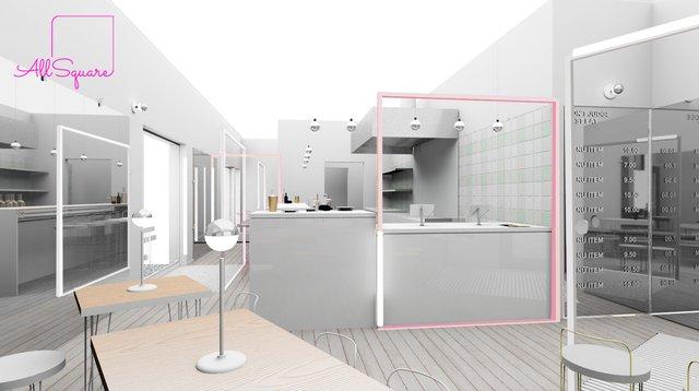 All Square's interior design