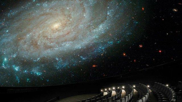 Bell Museum's new planetarium