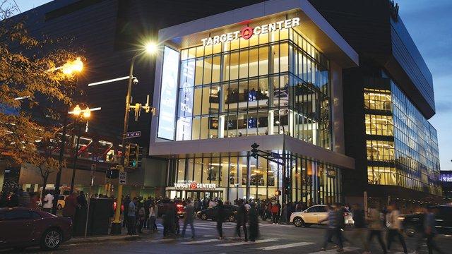 Target Center after renovation