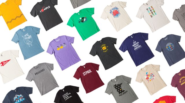 Minnesota themed T-shirts