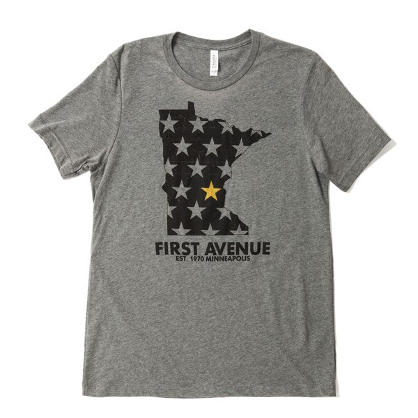 First Avenue x Juxta Gold Star | $25, First Avenue