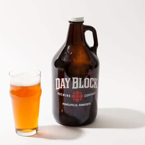 Running Tap Beer Growler Delivery