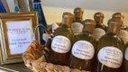 Bottles of Greek Vinaigrette