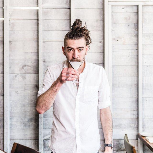 Bartender Marco Zappia at Martina