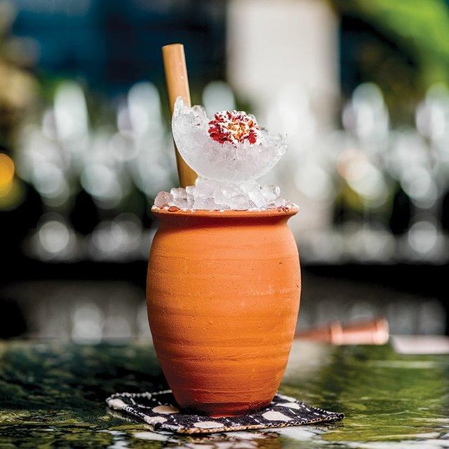 Cocktail at Martina