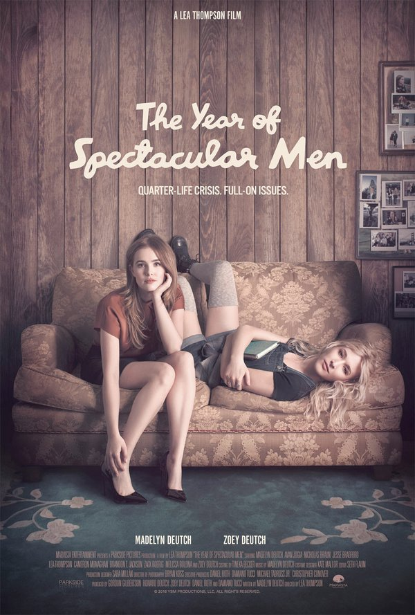 Movie poster for The Year of Spectacular Men