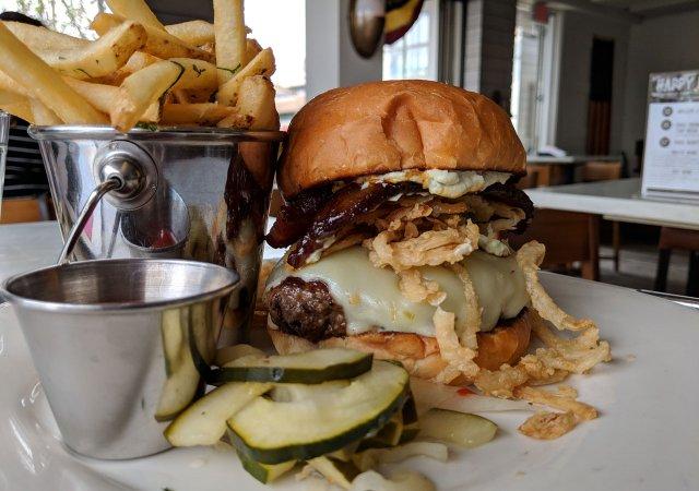 Jalapeno Bacon Burger fro CoV in Wayzata