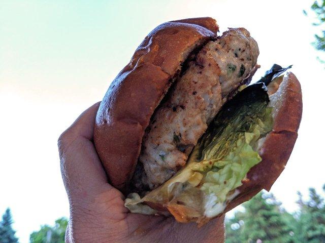 Turkey Burger from Hazellewood Bar & Grill