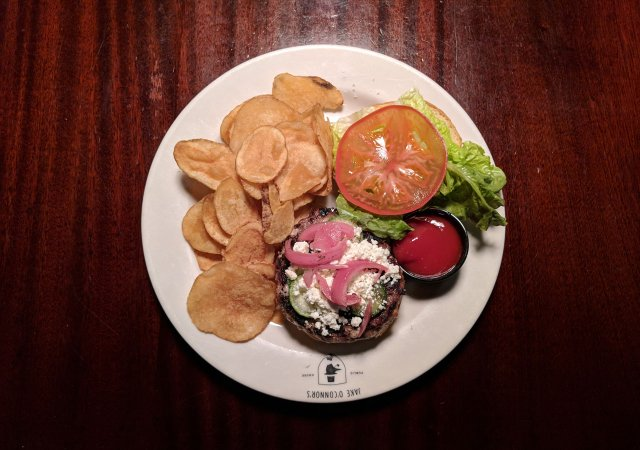 Lamb Burger from Jake O'Conners