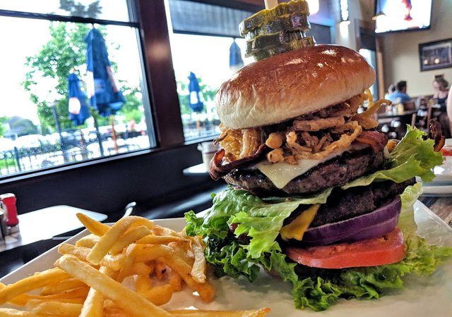 Mighty Muni Burger from The Muni