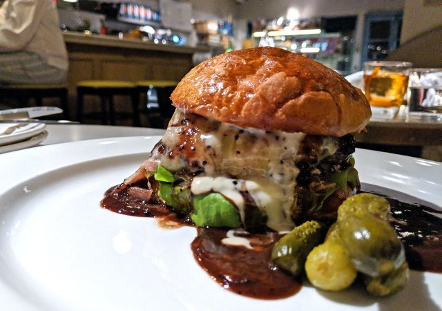 The Dirty French Burger from Bellecour
