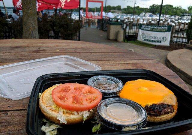 Mr. Jimmy burger from Maynard's
