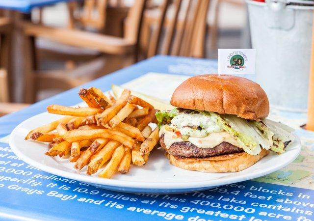 Lord Fletcher's JP Burger