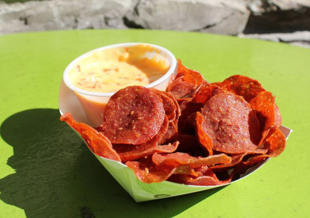 New State Fair Foods 2018 Pepperoni Chips