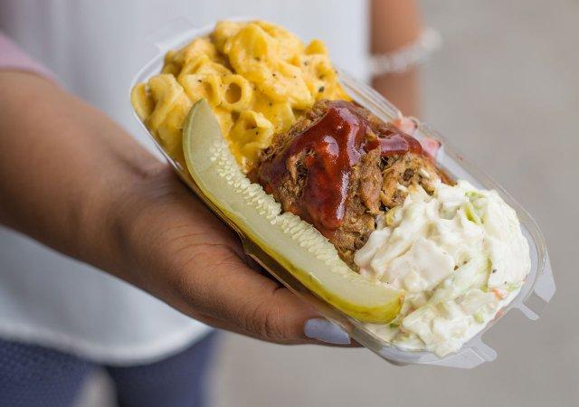New State Fair Foods 2018 BBQ Split