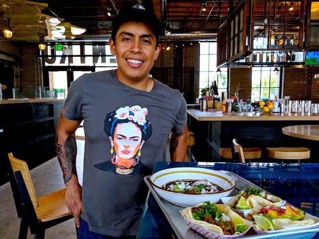 Chef Jose Alarcon at Centro