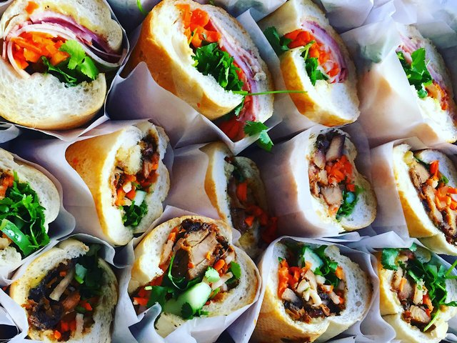 Banh Mi Sandwiches from Lu's Sandwiches